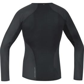GORE WEAR Windstopper Baselayer Thermo Longsleeve Shirt Herre black
